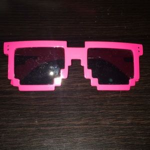 Other - Brand new pink pixel sunglasses